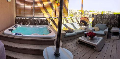 Designové venkovní vířivky na zahradu – Canadian Spa International® - Celoroční vířivé bazény Spa Studio