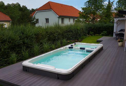 Canadian Spa International® - Nautilus XL - luxury swim spa with countercurrent - Spa Studio