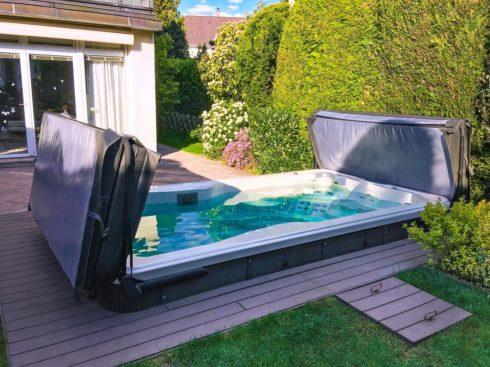 Vířivé bazény Spa Studio - plavecké swim spa s protiproudem. Swim spa Mollus od Canadian Spa International®