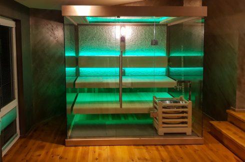 Luxusná fínska sauna Mexda s prémiovou technológiou Harvia - Spa-Studio.sk