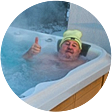 Canadian Spa International - Nemo - zimni provoz -19C