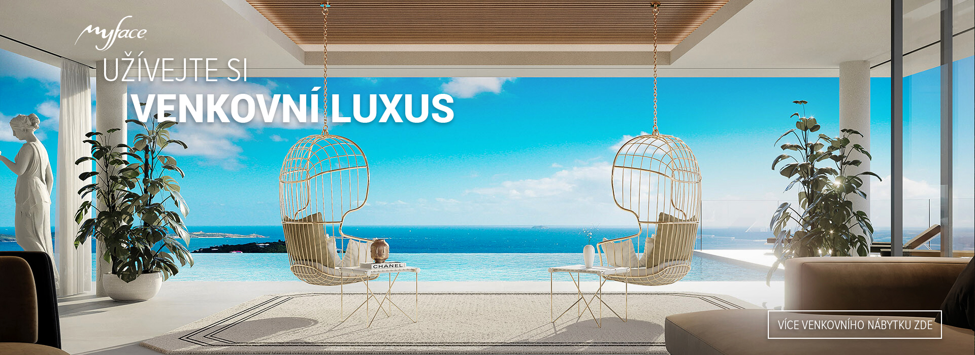 Spa Studio - Luxurious outdoor furniture Myface