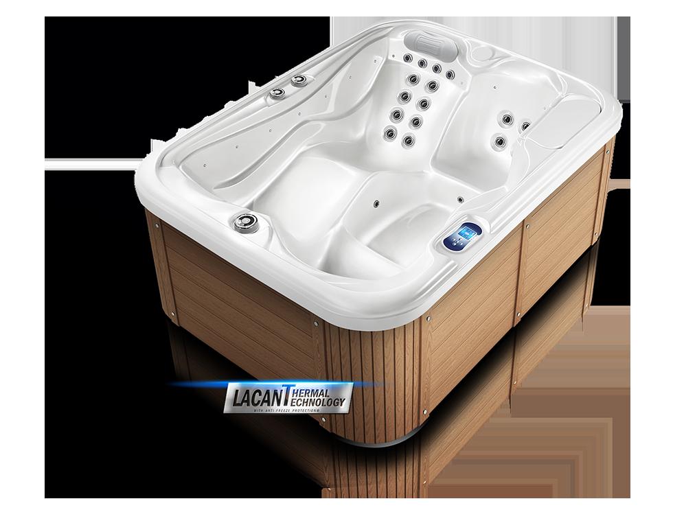 Designové vířivky Spa Studio - opláštění Lacan Thermal technology - Pacific Brown