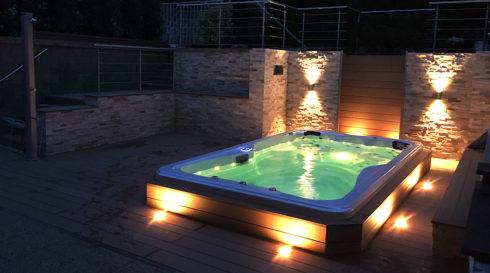 Spa Studio Canadian Spa International® - Mollus - Venkovní vířivka, Swim Spa