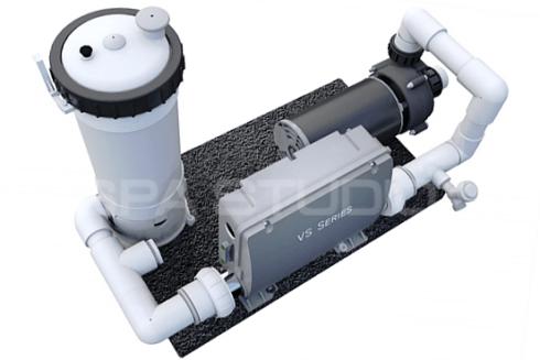 Technologie - filtrační systém - prémiové vířivky a swim spa Canadian Spa International®