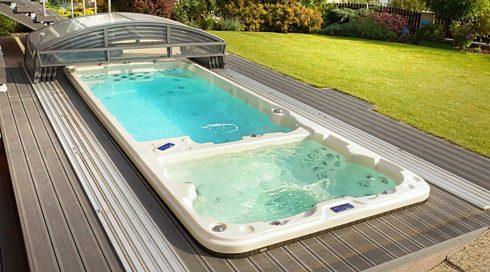 SWIM SPA aneb luxusní bazén a vířivka na čtyři roční období