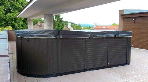Swim Spa Beluga na terase - Spa Studio