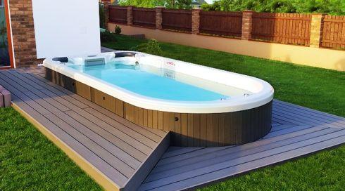 Canadian Spa International® - Zahradní vířivka swim spa Beluga - Spa Studio