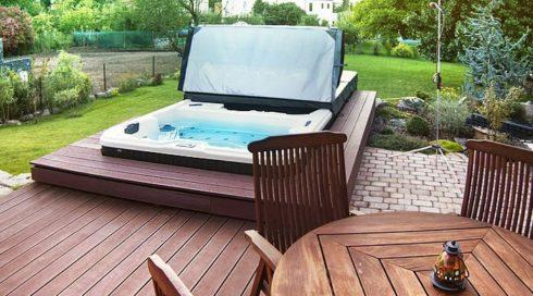Swim-SPA Nautilus XL venkovní vířivka Canadian Spa International®