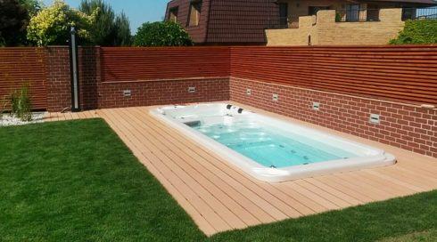 Spa Studio - Venkovní zahradní swim spa Nautilus XXL - Canadian Spa International®