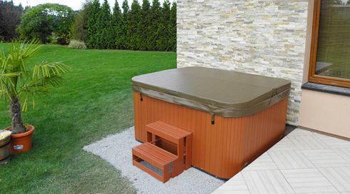 Canadian Spa International® - Intimní chytré vířivky na zahradu - model Puerla - Spa Studio